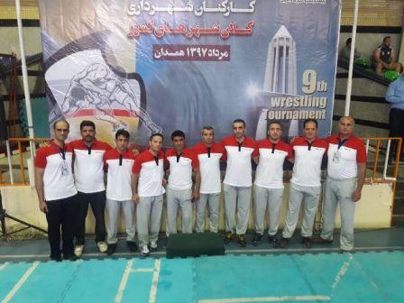 سازمان فرهنگی اجتماعی ورزشی شهرداری رشت : نهمین دوره مسابقات کشتی کارکنان شهرداری کلانشهرهای کشور