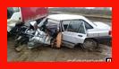عملیات نجات در پی محبوس شدن راننده خودروی سواری/ آتش نشانی رشت