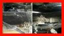 اطفای آتش سوزی کارگاه سنگ بری در بلوار ولیعصر رشت/آتش نشانی رشت