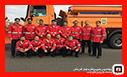 رژه ناوگان خودرویی عملیات زمستانی شهرداری رشت انجام شد/آتش نشانی رشت